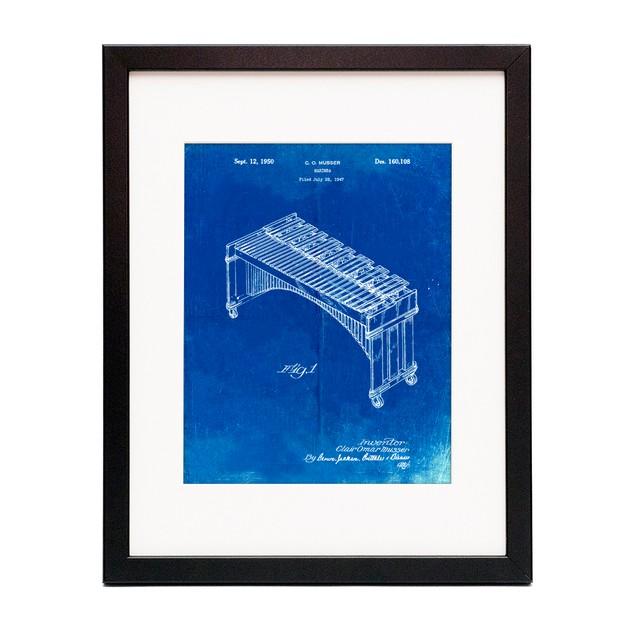 Marimba Patent Poster