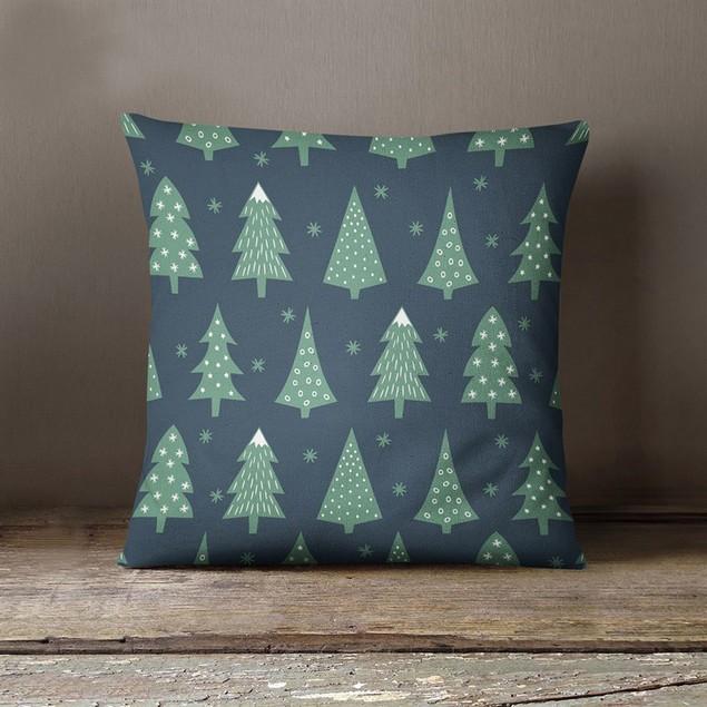 Christmas Rectangle Cushion Cover Silk Throw Pillow Case Pillowcase  A87