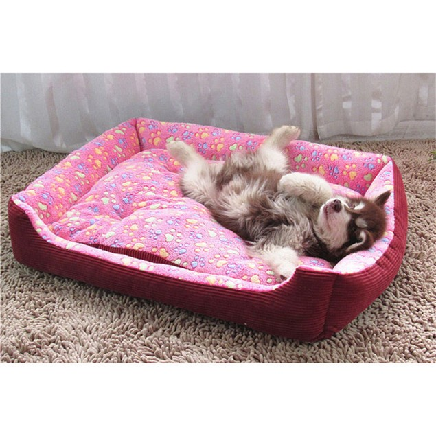 Warm Dog Beds Pet Cat House Cushion Mat Pad Basket Nest Soft for Dogs
