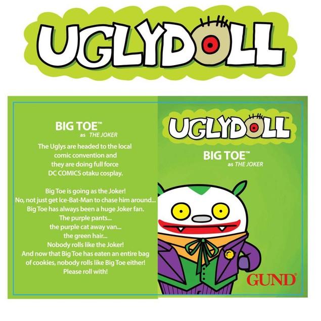 DC Comics Big Toe Joker Plush, Cartoons | Comics by Gund