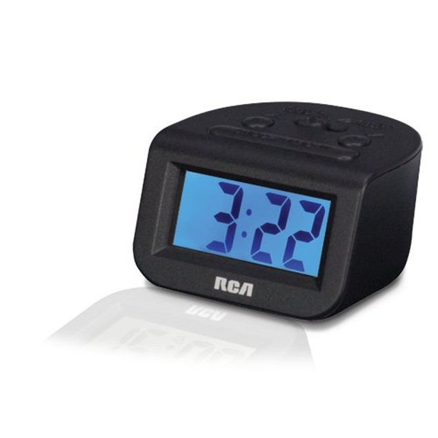 "RCA Digital Alarm Clock with 1"" Display - RCD10"