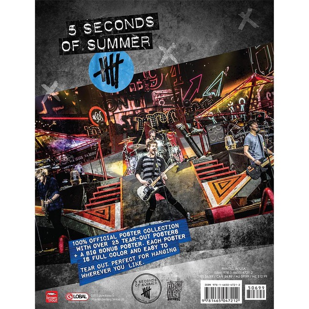 5 Seconds of Summer Poster Collection, Rap | Pop by BrownTrout