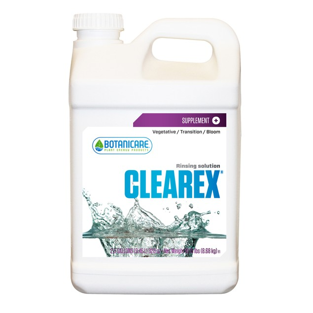 Clearex Rinsing Solution, 2.5 gal