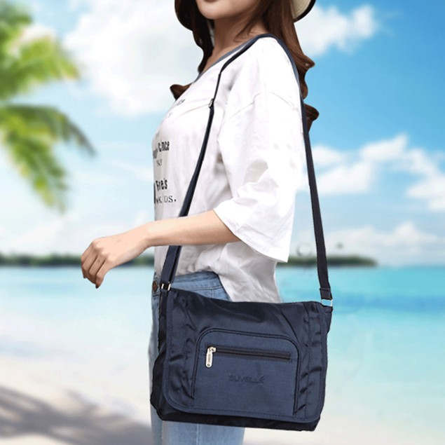 Suvelle Flapper Travel Crossbody Bag, Everyday Shoulder Purse