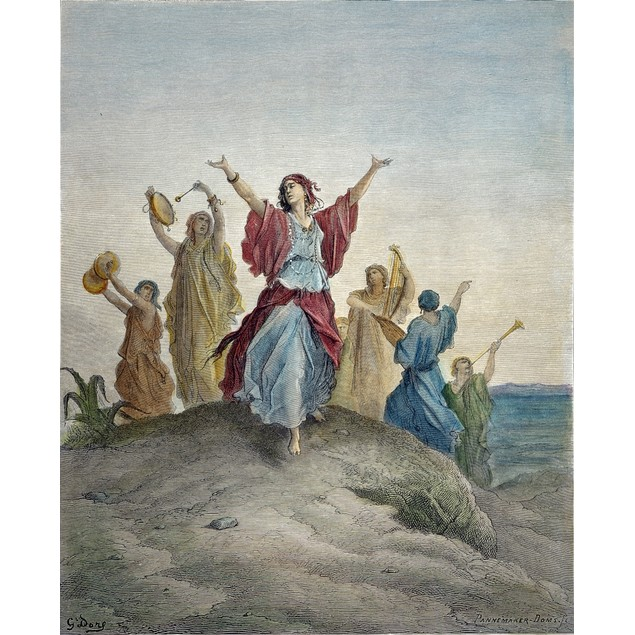 Jephthah'S Daughter. /Ncoming To Meet Her Father (Judges 11: 30,31,34). Woo