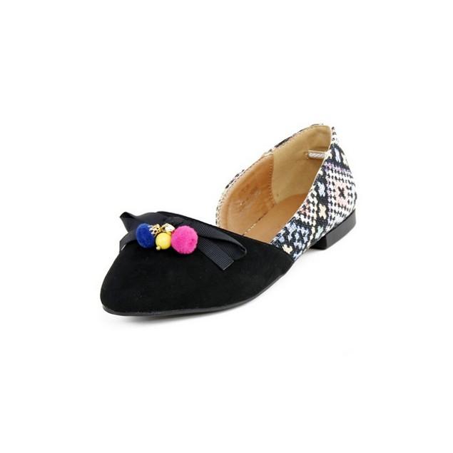Retro London Rag Womens Slip-On Shoes