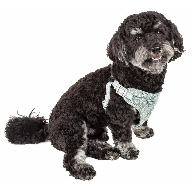 Pet Life 'Fidomite' Reversible And Adjustable Dog Harness W/ Bowtie