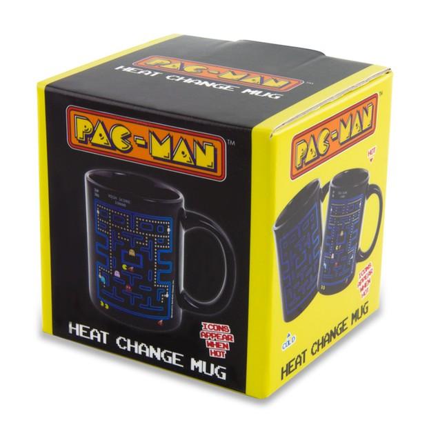 Pac-Man Heat Changing Mug Pac Man Video Game Coffee Tea 10 oz Drinkware