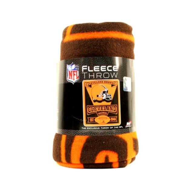 Cleveland Browns NFL Northwest Fleece Throw
