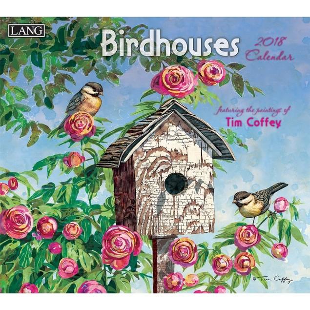 Birdhouses Wall Calendar, Birds by Calendars