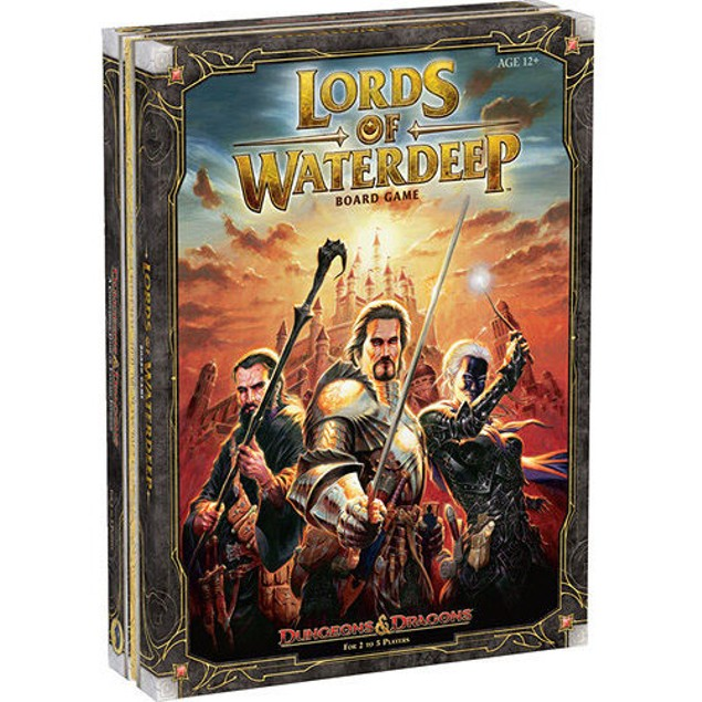 Dungeons and Dragons Lords of Waterdeep Board Game, More Pop Culture by Wiz