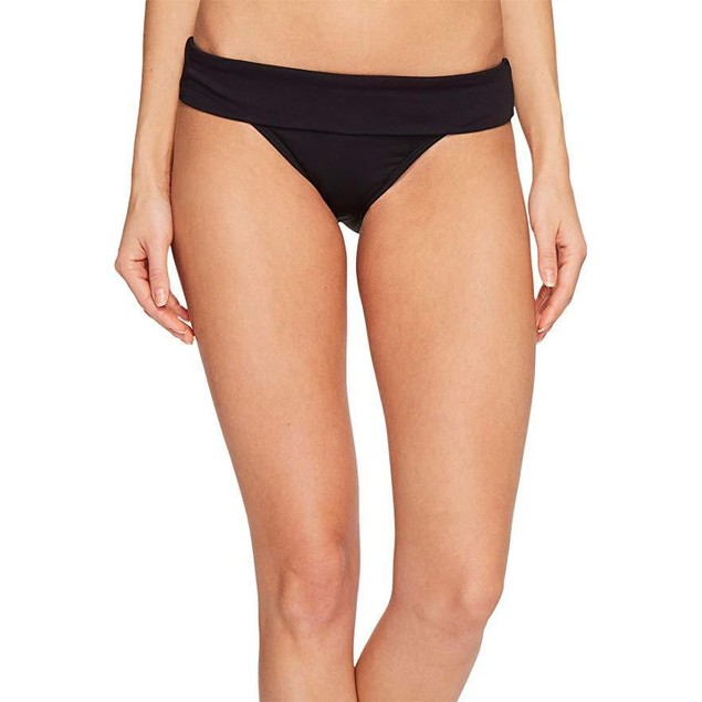 Lauren by Ralph Lauren Women's Beach Club Modern Hipster Bottom Black