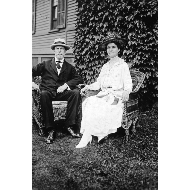 Charles Evans Hughes /N(1862-1948). American Jurist. Hughes With His Wife,