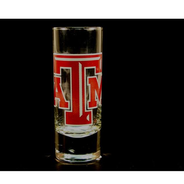 """Texas A&M Aggies NCAA """"Hype"""" Tall Shot Glass"""