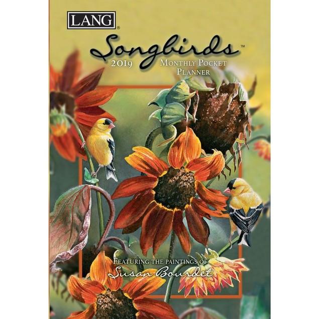 Songbirds Monthly Pocket Planner, Birds by Calendars
