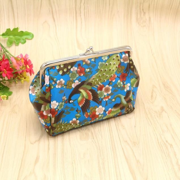 Women Lady Retro Vintage Small Wallet Hasp Purse Clutch Bag