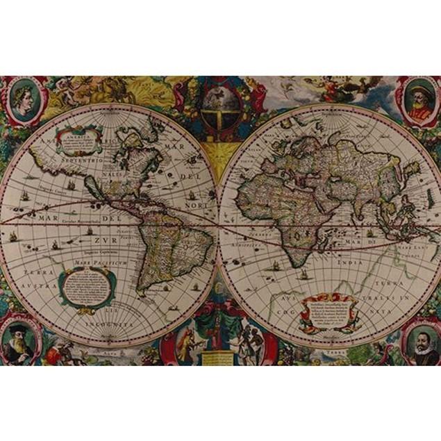 Antique Map 1000 Piece Puzzle, 1,000 Piece Puzzles by Go! Games