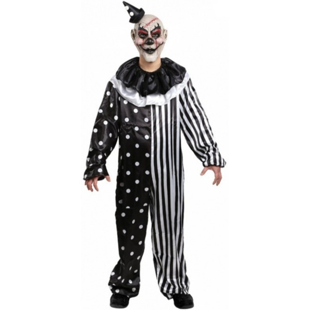 Kill Joy Clown Costume Adult
