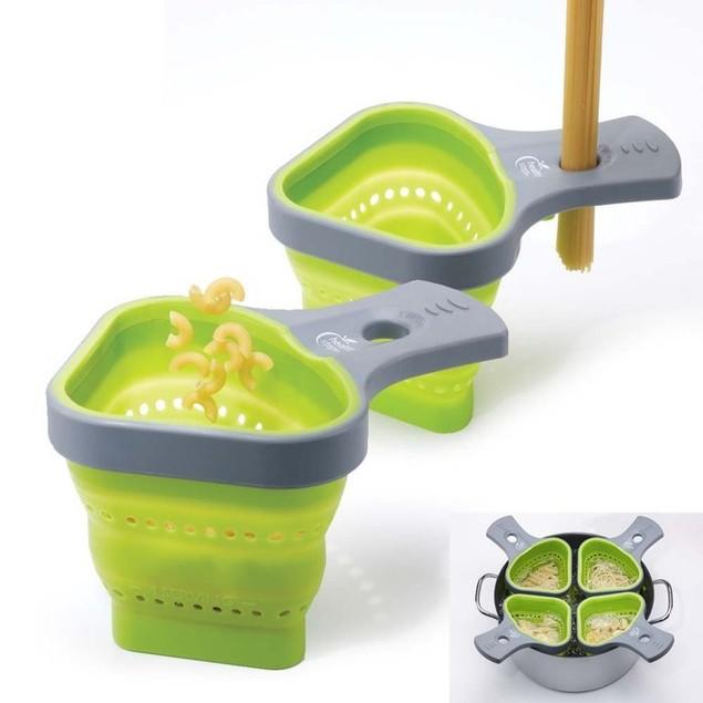 Healthy Steps Portion Control Pasta Basket Strainer