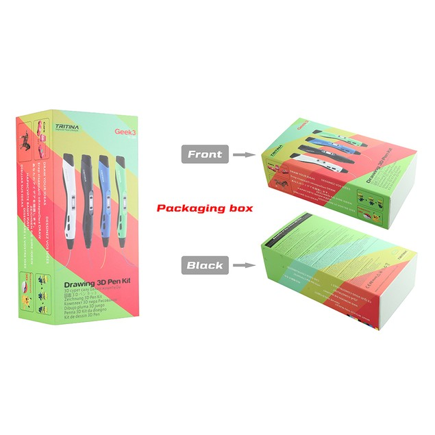 Tritina 3D Pen with Display,Printing Filament Professional Drawing