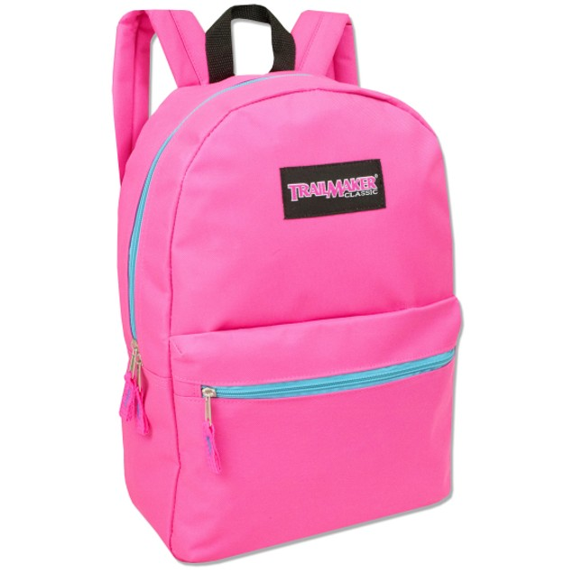 Trailmaker Classic Girls 2 Pocket Backpack