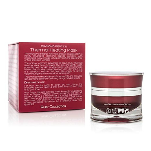 Brilliance New York - Ruby Collection Thermal Heating Mask 1.69 fl oz
