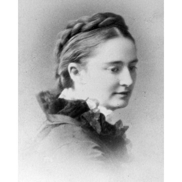 Olivia L. Clemens (1845-1904). /Nsamuel Clemens' (Mark Twain'S) Wife, C1873