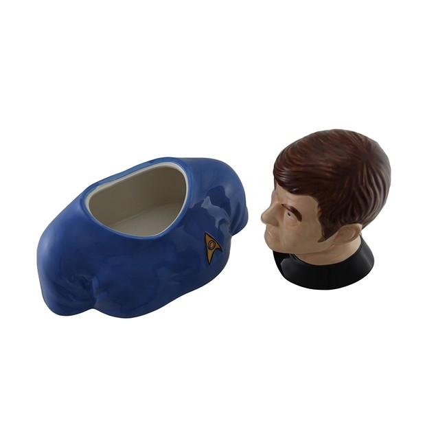 Star Trek Doctor Bones Mccoy Decorative Ceramic Cookie Jars
