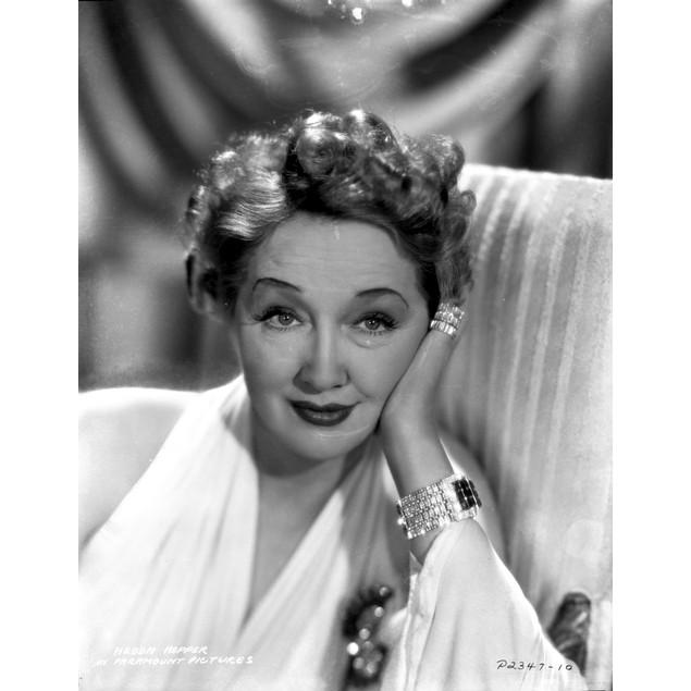 Hedda Hopper on Halter Dress Poster