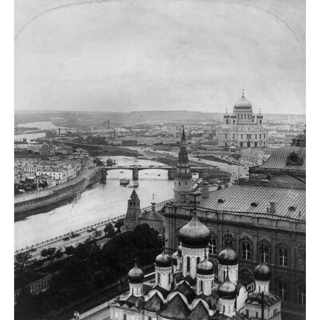 Russia: Moscow, C1903. /Nview Of Moscow, Russia From The Ivan The Great Bel