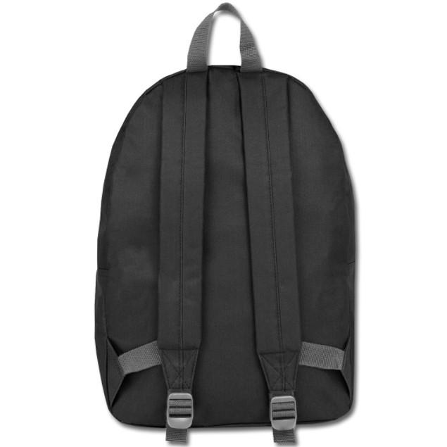 Black Classic 2 Pocket Backpack