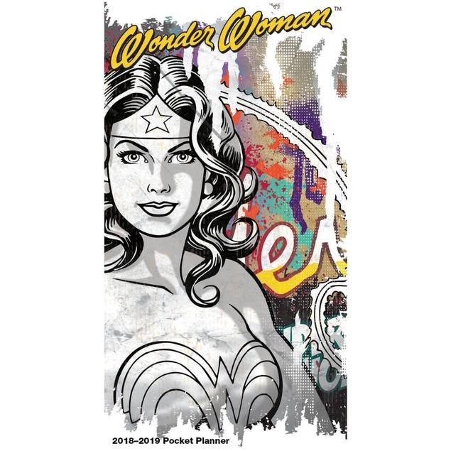 Wonder Woman Monthly Pocket Planner