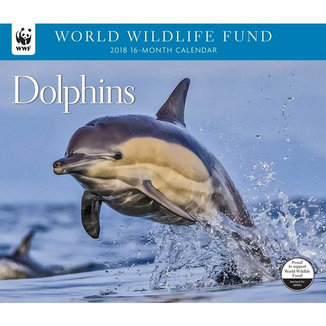 Dolphins WWF Wall Calendar