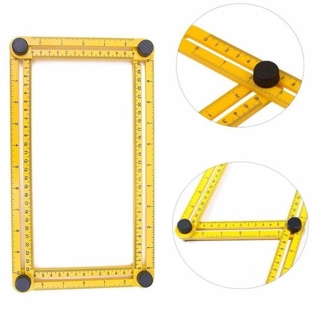Multifunctional Measuring Tool Angle Model Angle Ruler
