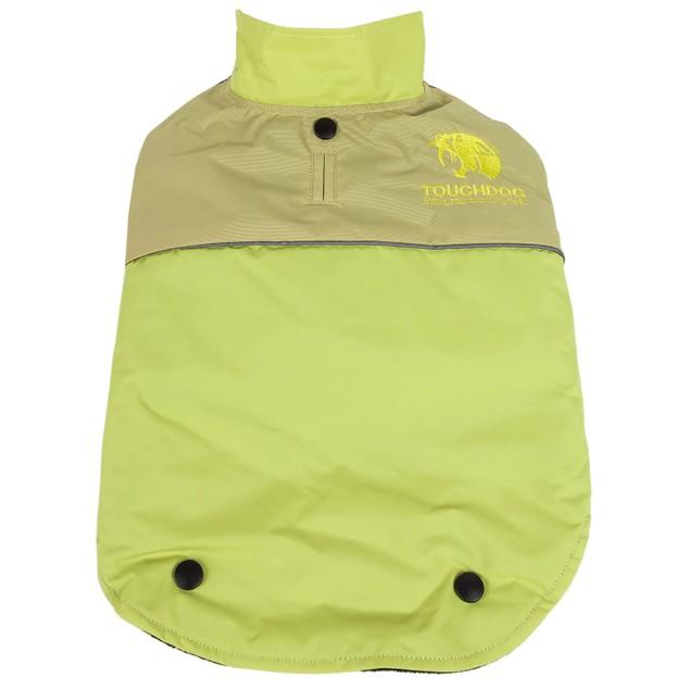 Touchdog Lightening-Shield Waterproof 2-in-1 Convertible Dog Jacket
