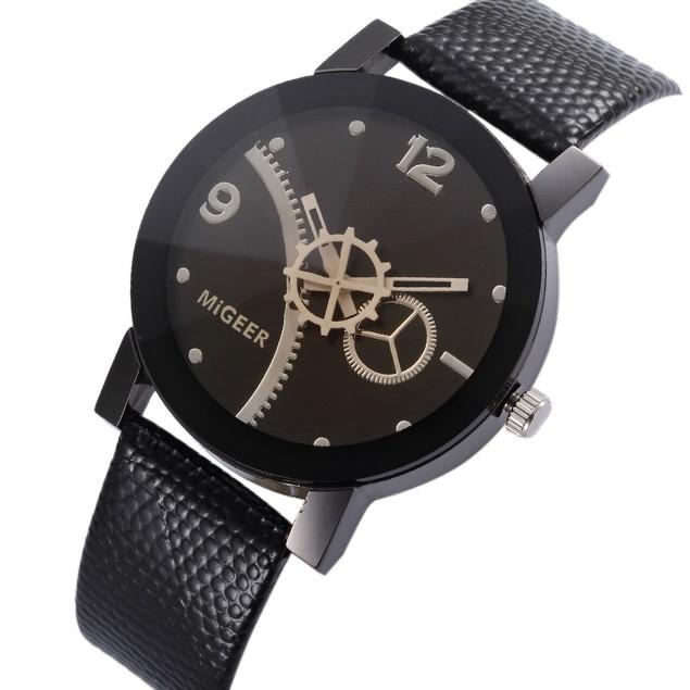 Men's MIGEER Retro Design Analog Alloy Quartz Wrist Watch