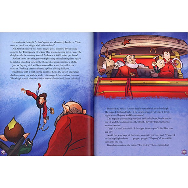 Arthur Christmas The Movie Storybook Book, Animated Movies by Sterling