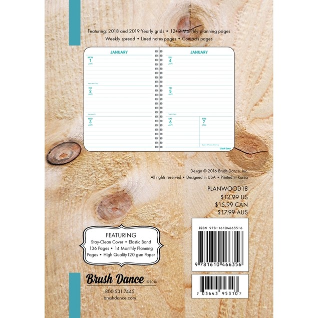Discovery Weekly Planner, More Inspiration by Brush Dance