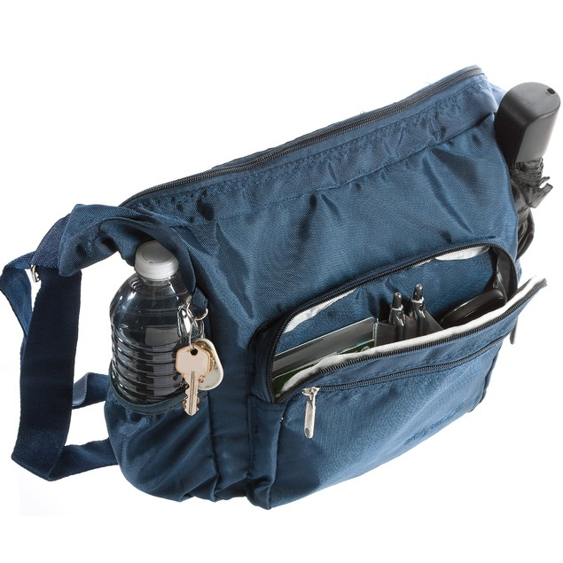 Suvelle Hobo Travel Crossbody Bag Shoulder Handbag  Nylon Purse