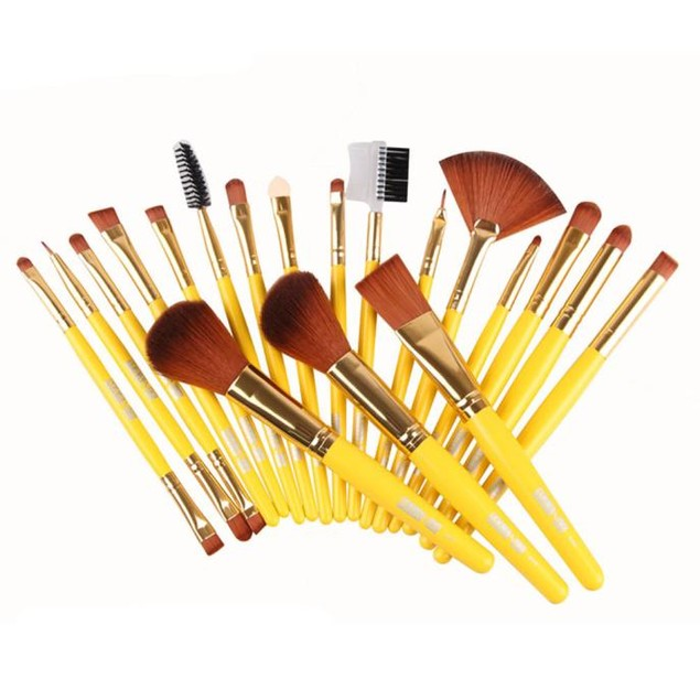 19pcs Soft Hair  Makeup Brushes Foundation Powder Brush