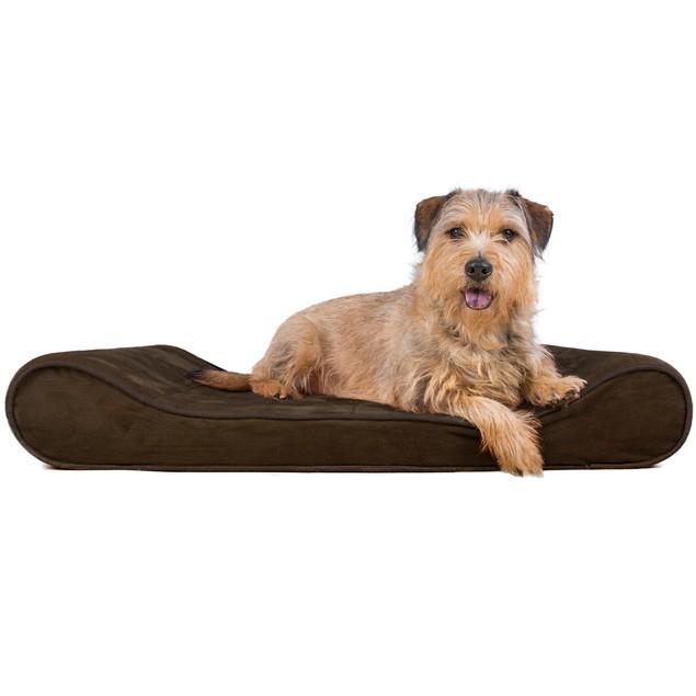 Microvelvet Luxe Lounger Orthopedic Pet Bed