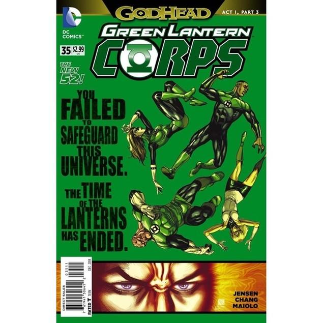 Green Lantern Corps Magazine Subscription