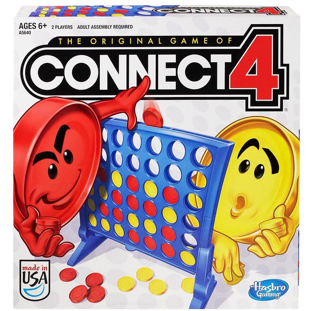 Connect Four, Classic Games by Hasbro