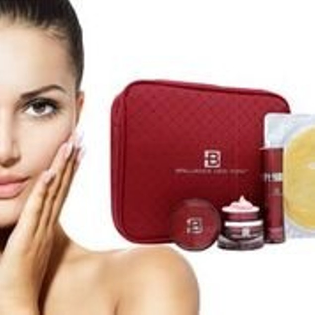 Brilliance New York - Ruby Collection 9-Piece Gift Set OF Skin Care Repair