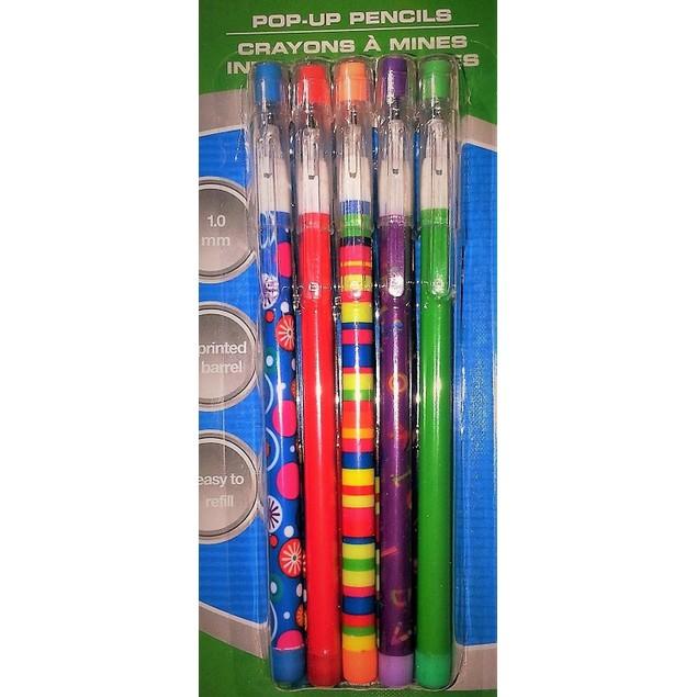 POP-UP Pencils (10 count) - Multiple Colors