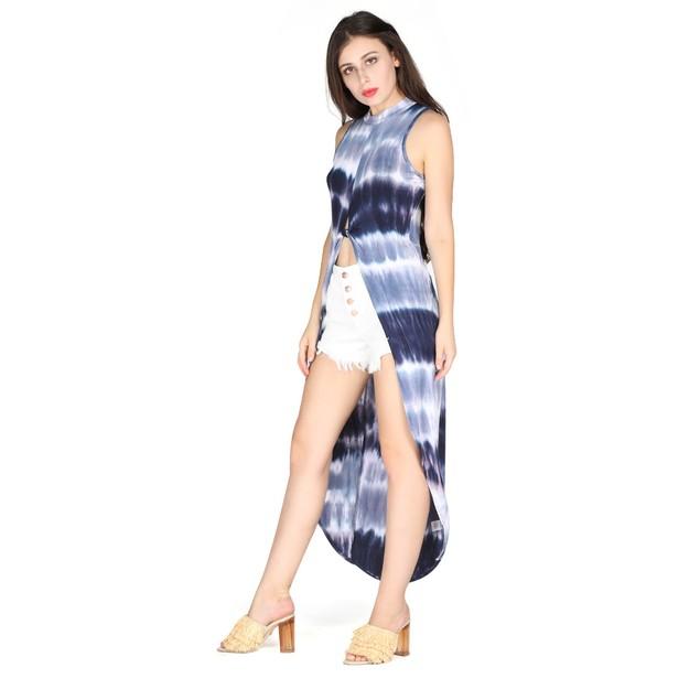 Celebrity NYC Casual Tie Dye Dress