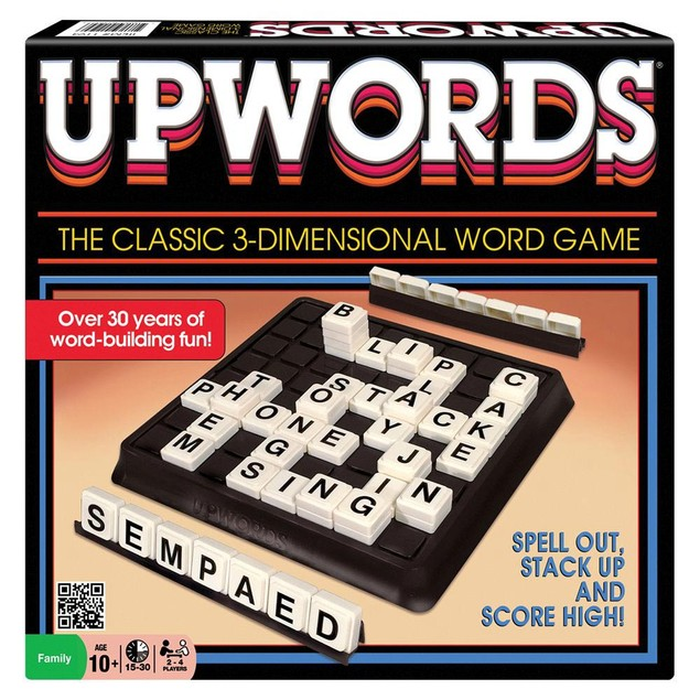 Upwords Game, More Games by Winning Moves Inc.