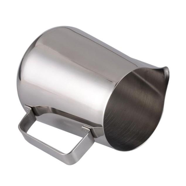 12oz Stainless Steel Milk Steamer Cup