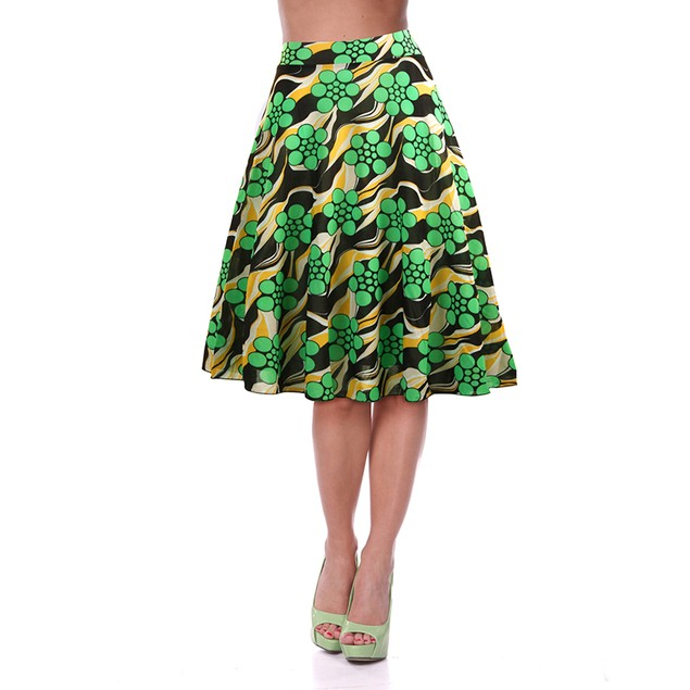 3-Pack Mystery Deal: Women's Casual Elastic Waist Floral Printed Skirts