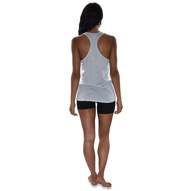 5-Pack Women's Flowy Burnout Racer Back Active Workout Tank Tops
